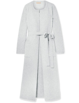 Koffi Ribbed Wool And Cashmere Blend Coat by Brock Collection