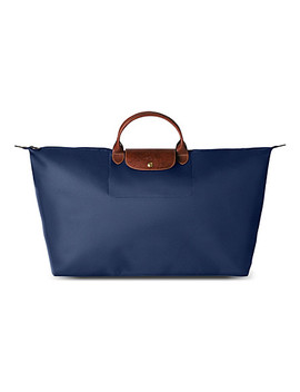 Le Pliage Large Travel Bag In Navy by Longchamp