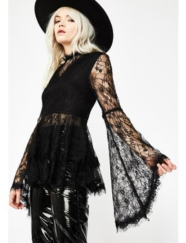 Hex Magic Bell Sleeve Blouse by Voila