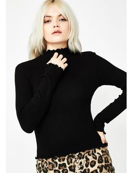 Babely Basic Ribbed Top by Better Be