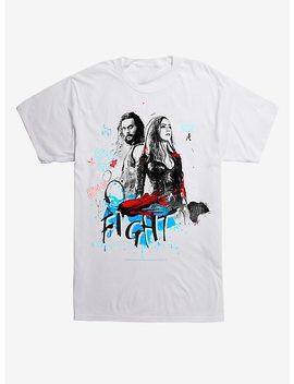 Dc Comics Aquaman Fight T Shirt by Hot Topic
