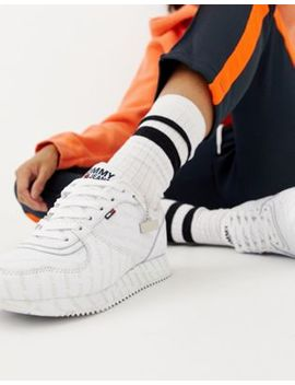 Tommy Jeans Classic Flag Trainers by Tommy Jeans Capsule