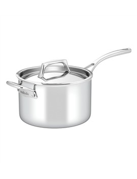 Per Sempre 20cm/3.8l Covered Saucepan With Helper Handle by Essteele