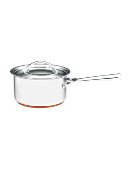 Per Vita Stainless Steel Copper Saucepan: Made In Italy by Essteele