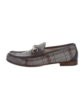 1953 Plaid Horsebit Loafers W/ Tags by Gucci