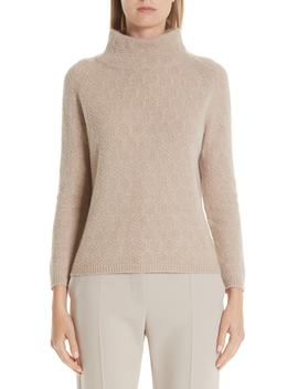 Leandra Cashmere Cable Knit Sweater by Max Mara