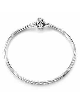 Long Way Bracelet,925 Sterling Silver Basic Charm Bracelet Snake Chain Fine Jewelry For Women, Best Christmas Birthday Gift For Mother Wife Girlfriend by Long Way