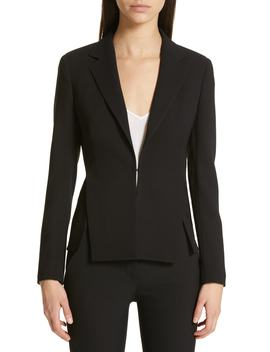 Ocelia Wool Blend Jacket by Akris