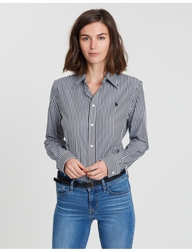 Andrew Kendal Slim Fit Ls Shirt by Polo Ralph Lauren