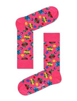 Berry Multi Sock by Happy Socks