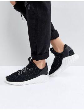 Adidas Originals – Tubular Doom – Schwarze Sneaker In Sockenähnlicher Passform by Asos