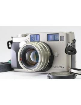 [Near Mint] Contax G2 + Planar 45mm F/2 Lens W/ Strap & Camera Case F/S #1274 by Contax