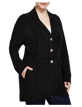 Exposed Seam Jacket by Nic And Zoe Plus