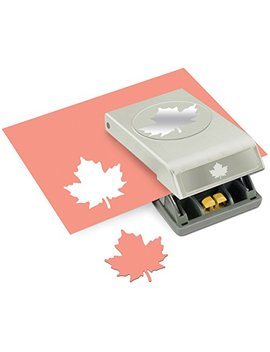 Ek Tools Paper Punch, Large, Maple Leaf, New Package by Ek Tools