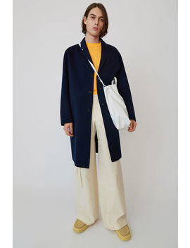 Oversized Coat Dark Blue by Acne Studios