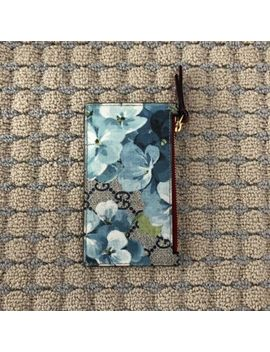 Gg Gucci Bloom Card Holder/Coin Purse by Gucci