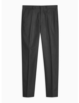 Charcoal Skinny Trousers by Topman