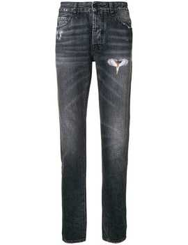 'wing' Jeans by Marcelo Burlon County Of Milan