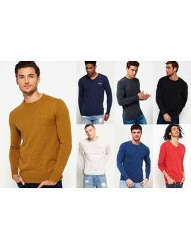 New Mens Superdry Knitwear1 Selection   Various Styles & Colours 181218 by Ebay Seller