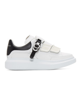 Baskets Surdimensionnées Blanches Multi Flap Tab by Alexander Mcqueen