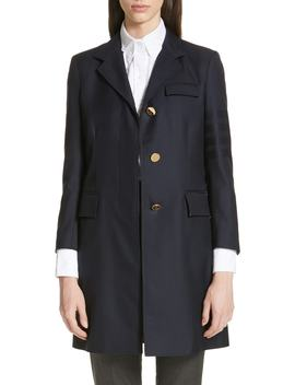 4 Bar Jacket by Thom Browne