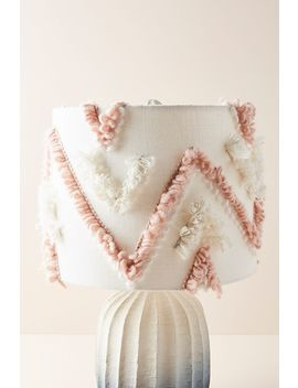 Textured Zahra Lamp Shade by Anthropologie