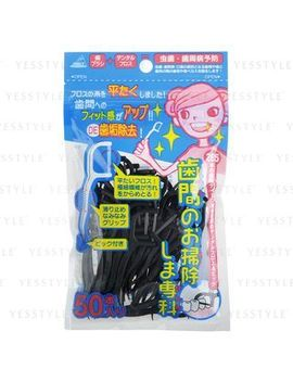 Annecy   Dental Floss Stick (Charcoal) by Annecy
