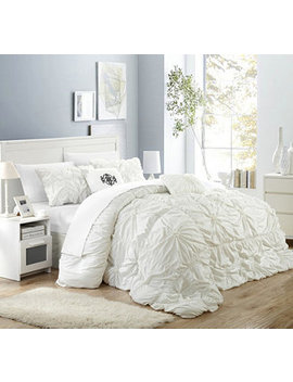 Halpert 6 Pc King Comforter Set by Chic Home