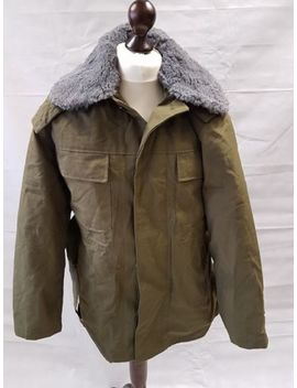 Genuine Unnissued Czech Army Olive Green M85 Parka   Army Surplus   Fishing Coat by Ebay Seller