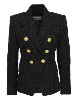 Tweed Blazer by Balmain