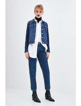 Authentic Denim Mom Fit Jeans  Starting From 50 Percents Offwoman Sale by Zara