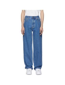 Blue Baggy Jeans by Calvin Klein Jeans Est. 1978