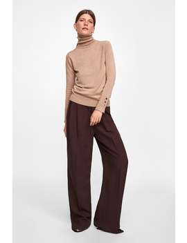 Basic Turtleneck Sweater  High Neck Knitwear Woman New Collection by Zara