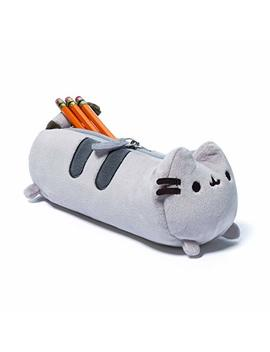 "Gund Pusheen Cat Plush Stuffed Animal Accessory Pencil Case, Gray, 8.5"" by Entertainment Earth"