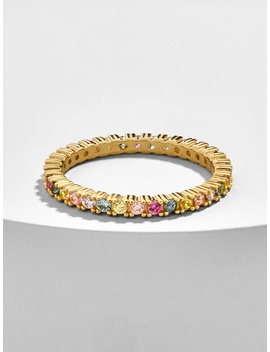 Vivace 18 K Gold Plated Stacking Ring by Baublebar
