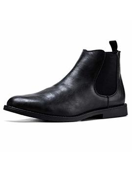 Jivana Men's Chelsea Ankle Dress Boots Oxford by Jivana