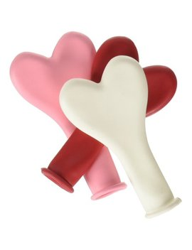 "Sweetheart Heart Shaped Latex Balloon, 6"", Made By Qu Latex   The Choice Of Professionals By Pioneer Balloon Company by Pioneer Balloon Company"