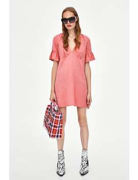 Dress With Frilled Sleeves  Dresseswoman Sale by Zara