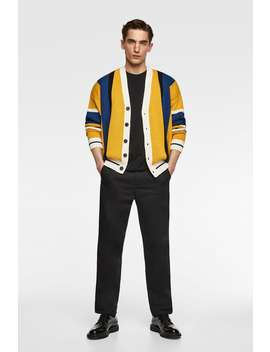 Striped Cardigan  New Inman New Collection by Zara