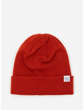 Top Beanie   Oxide Orange by Norse Projects