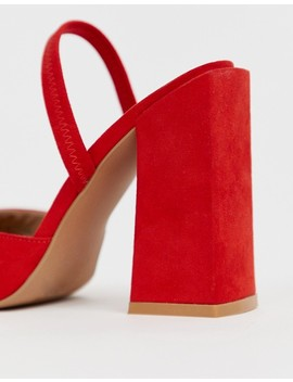 Asos Design Pivot Slingback High Heels by Asos Design