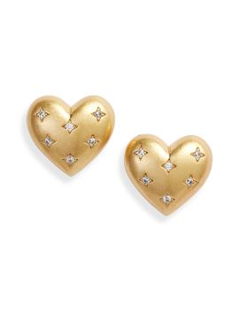My Precious Heart Stud Earrings by Kate Spade New York