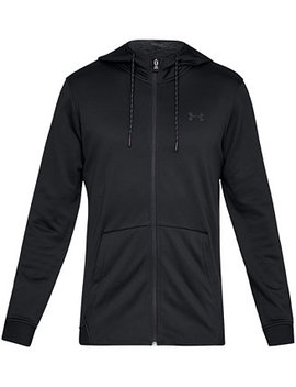 Men's Armour Fleece Zip Hoodie by Under Armour
