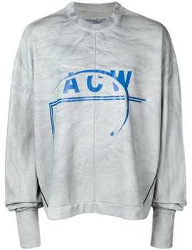 Sweatshirt Mit Logo Print by A Cold Wall*