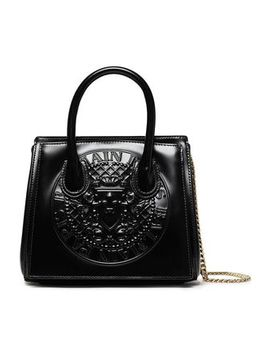 Leather Shoulder Bag by Balmain