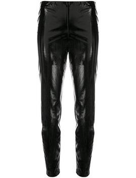 Vinyl Skinny Trousers by Federica Tosi