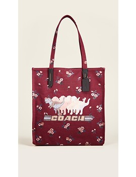 Shadow Rexy Canvas Tote by Coach 1941