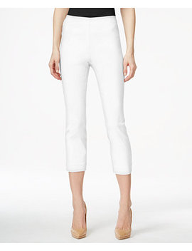 Petite Pull On Capri Pants, Created For Macy's by Style & Co