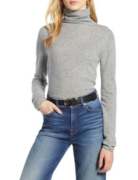 Funnel Neck Cashmere Sweater by Halogen®