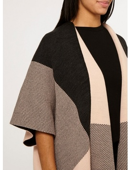 Check And Stripe Cape by Dorothy Perkins